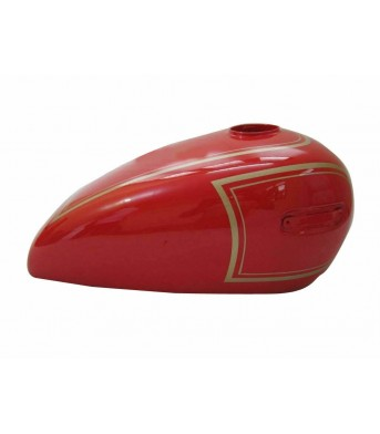 Ariel 500Cc Red Painted ALLOY Petrol Tank (Reproduction) New