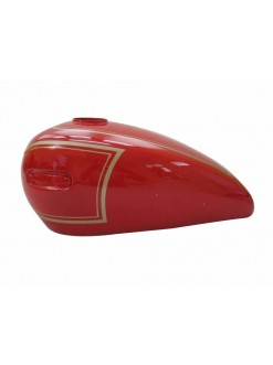 Ariel 500Cc Red Painted Petrol Tank (Repro uction) New 2